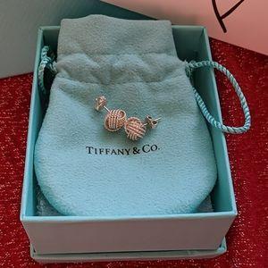 Tiffany & Co Twisted Knot Earrings